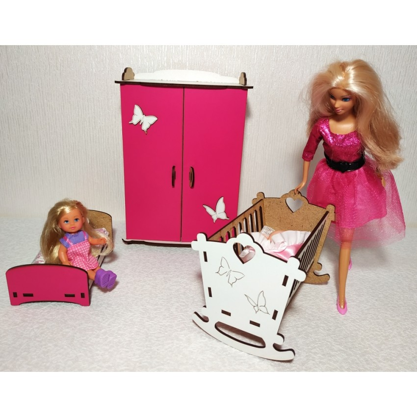 Меблі для великих ляльок