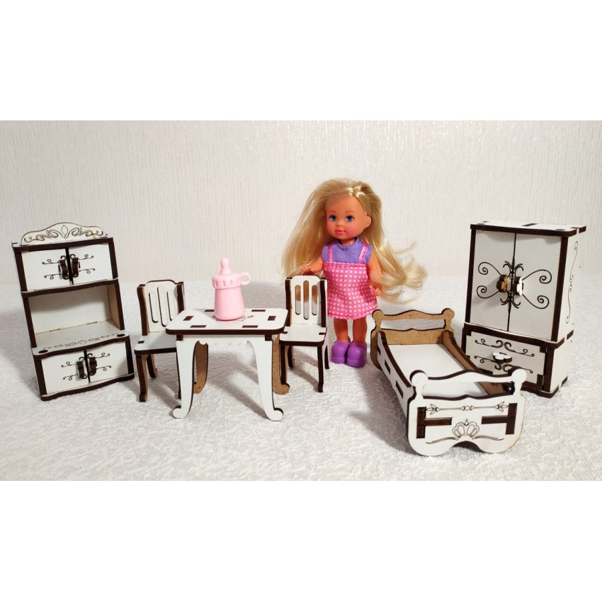 Меблі для малих ляльок
