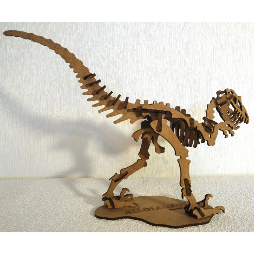 Алозавр 3D Пазл