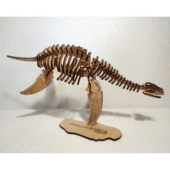 Плезиозавр 3D Пазл